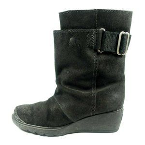 Sorel Toronto Waterproof Leather Wedge Boots